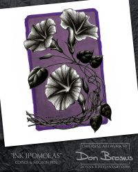 Ink Ipomoea by Donny-B