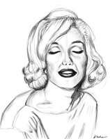 Marilyn sketch by circle00