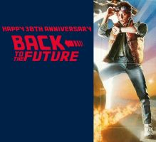 Back to the Future 30th Anniversary by mrentertainment