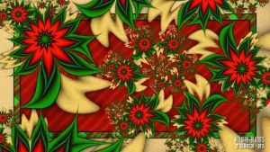 UF Chain Pong 263- Holiday Blooms by miincdesign
