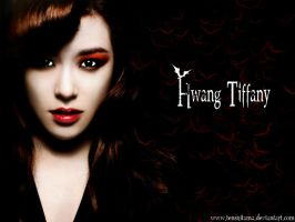 Snsd-Hwang Tiffany-Vampiress by TenshiTama