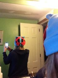 Catbug hat by Bluefootstroodle