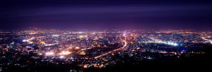 Chiang Mai from Doi Suthep by palmbook
