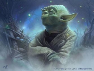 Star Wars: TCG - Yoda by AnthonyFoti