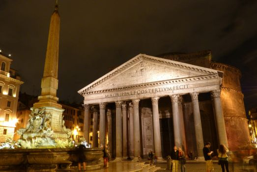 Pantheon at night by gkhn84