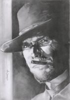 Clint Eastwood by Sparkmachine