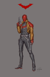 Red Hood by n-pigeon