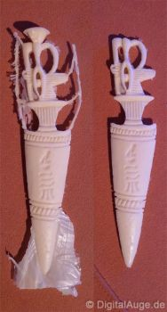 Egyptian artifacts Pesesh-kef wands Replic #4 by digitalAuge