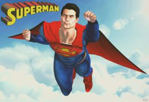 Superman [updated] by That-3D-Ginger