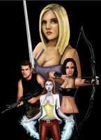 Buffy Fictional Cover by HeroforPain