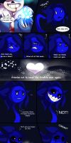 UT-Sneered the color blue Page 2 by Lappystel
