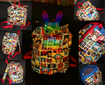 One Piece Backpack by louisalulu