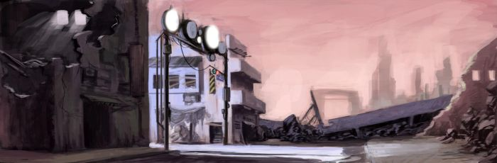 Post Apocalyptic by kasai