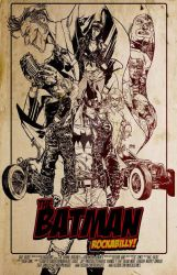 batman rockabilly by witchfox