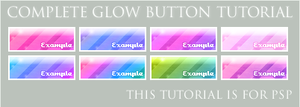 Complete Glow Button Tutorial by wingsdesired-psp