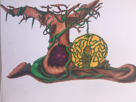Tree of Containment (Colored) by dorontuvia123