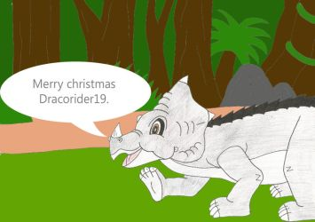 X-mas gift for Dracorider19 by Animedalek1