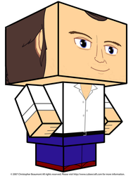 Phil Collins Cubee 3D by GrapefruitFace1