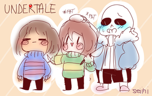 Undertale by Seiini
