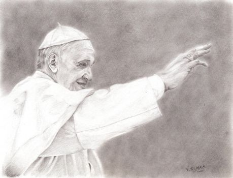 Pope Francis - Papa Francisco by VTAbdala