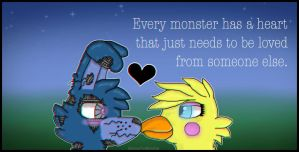 I Every Monster Has A Heart I by MittensTheWhiteCat