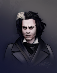 Sweeney Todd by ArviShiller