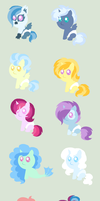 Trixie Fanfoal Adopts (OPEN) by PurfectPrincessGirl