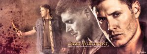 Dean Winchester (Banner for FB) by Nadin7Angel