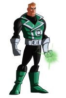 guy gardner by Benjaminjuan