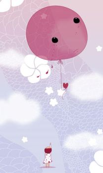 Child and Balloon by kiayu
