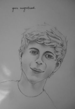 Nial from One Direction by Buttaa