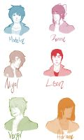 SHIFTERS: Headshots Batch 1 by ko---ko