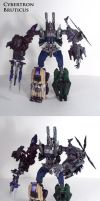 Cybertron Bruticus by Unicron9