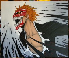 Bleach Ichigo by The-Dreaming-Dragon