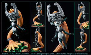 Commission : Midna by emilySculpts