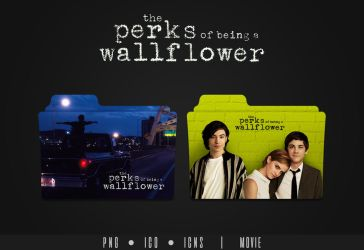 The Perks of Being a Wallflower Folder Icon by Eanzito
