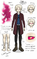 Supernatural oc: Dawn (profile) by halomindy
