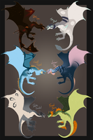 Pit Wyvern's For Sale - OPEN - Offer USD by Winterfaux