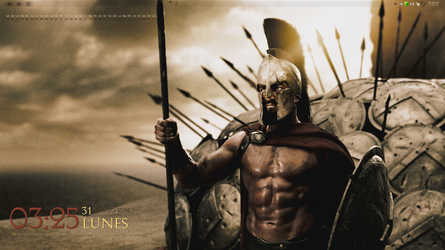 (#!) CrunchBang - Leonidas by thredith