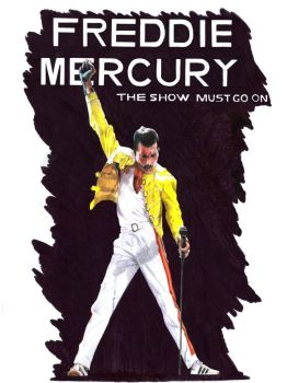 (commission)-Freddie Mercury by barbaramj