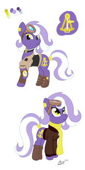 Traveling Pony Museum Mascot Design by MoonSango