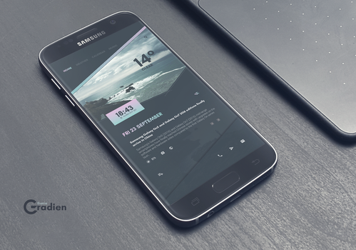 Gradien Theme for Android by marcco23