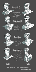 Draw It Again! - The Bearded Ones by Sorcaron