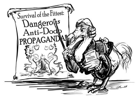 Anti-Dodo Propaganda by ursulav