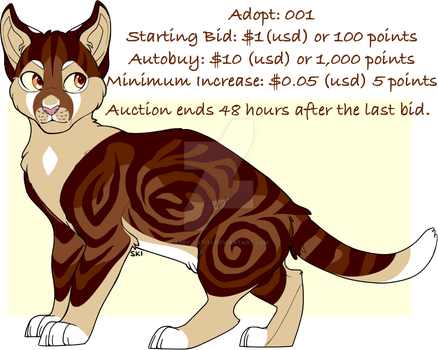 Adopt A Day: 001 |  Auction | OPEN by Abby-Cat-14