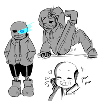 sans and dancetale by kiacii-official