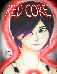 Isabella Bennett Red Core by DarkBrushBrony