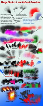 Manga Studio 5 AIRBRUSHES downloadable by 888toto