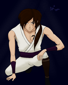 Evil Ninja - Colored by solacensquirrelcansr