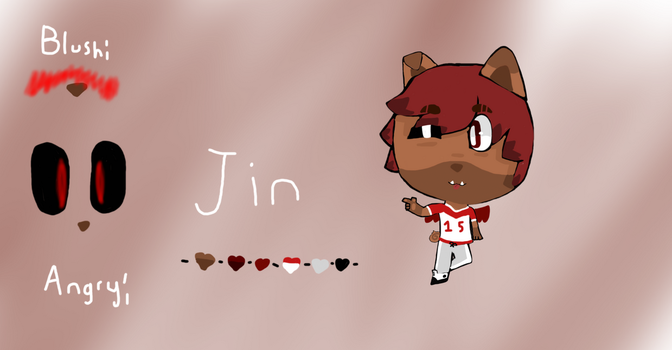 Jin by BubblegumButton